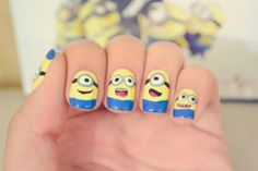26 Unbelievable Movie Inspired Nail Art Designs