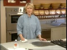 Martha Stewart on soapstone and how to care for it.