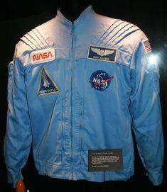 """Commander Richard """"Dick"""" Scobee's flight Jacket. Shuttle astronaut 1980's jacket - Bing images"""