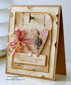 Gorgeous creation by Emma for the Simon Says stamp Monday challenge (Big Stamp) April 2014