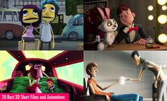 20 Awesome 3D Short Films and 3D Animations for your inspiration. Read full article: http://webneel.com/20-awesome-3d-short-films-and-3d-animations-your-inspiration | more http://webneel.com/animation | Follow us www.pinterest.com/webneel