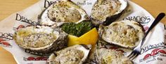 Drago's Charbroiled Oysters so so devine! Ne,w Orleans and Fat City Metairie, La   http://www.dragosrestaurant.com/