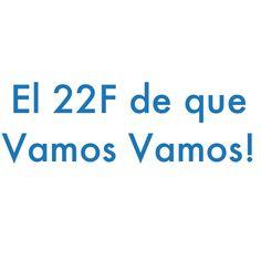 El 22f vamos Venezuela.
