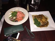 @ironmonkeybar dinner for two on a Friday Nite! Fresh to order. Mouth watering, taste poppin food!