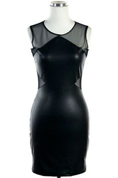 UrbanSew - Fitted Mesh Dress, $40.00 (http://www.urbansew.com/fitted-mesh-dress/)