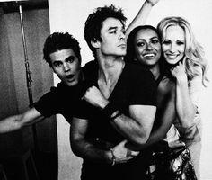 Paul,Ian,Kat & Candice
