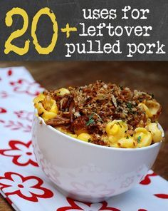 20+ Uses for Leftover Pulled Pork by FamilySpice.com