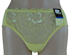 Wacoal So Seductive Sexy Yellow Lace Bikini Panty Underwear XL 873199 #Wacoal #Bikinis