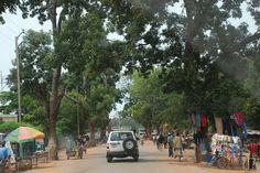 Main street in Fada