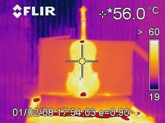 Immagine IR di controllo. Attraverso l'uso di Termocamere all'infrarosso, il centro MISYA Point si assicura l'avvenuta disinfestazione.