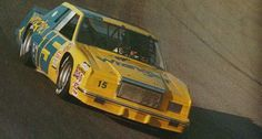 Another throwback. Dale Earnhardt #15 from 1985. That car is a little boxy though .-.