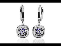Ravishing Cushion Cut Gemstone Drop Earring