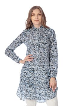 Camasa din bumbac subtire imprimat. High Neck Dress, Dresses, Fashion, Turtleneck Dress, Gowns, Moda, Fashion Styles, Dress, Vestidos