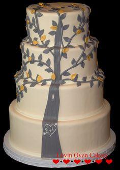 Gray Tree  Lovinovencakery.com