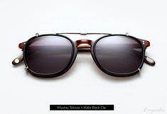 Garrett Leight Kinney Eyeglasses with Clip - Whiskey Tortoise Clip On Sunglasses, Ray Ban Sunglasses Sale, Stylish Sunglasses, Luxury Sunglasses, Sunglasses 2016, Cheap Ray Bans, Ray Ban Outlet, Ray Ban Wayfarer, Mens Glasses