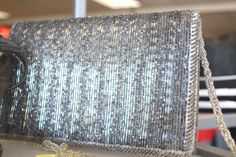 Beautiful beaded vintage clutch! How pretty is this?