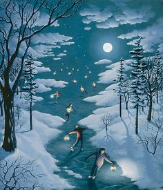 I so love his work...the softest, dreamiest surrealism I've ever seen.  Rob Gonsalves