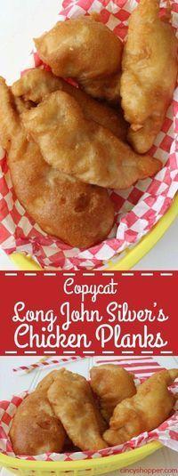 CopyCat Long John Silver's Chicken - Rock Recipes, Cat Recipes, Fondue Recipes, Turkey Recipes, Chicken Recipes, Crispy Oven Fried Chicken, Baked Chicken, Copykat Recipes, Snacks