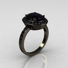 """Check out Brooke Steger's """"Black Diamond Engagement Ring"""" Decalz @Lockerz"""