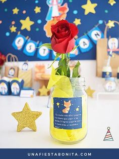 10 Perfect Themes for a Baby Shower – Voyage Afield Party Kit, Baby Party, Baby Shower Parties, Little Prince Party, The Little Prince, Prince Birthday Party, Baby Birthday, Fiesta Baby Shower, Baby Boy Shower
