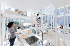 THIS IS REAL ARCHITECTURE: Primitive future: The Improvised spaces of Sou Fujimoto