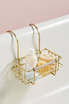 Book//Wine Stand Storage for Bubble Bath Umbra Helen Bamboo Tub Caddy
