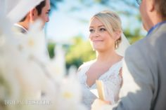 "In this picture you can see the love the bride has for her groom as she says ""I Do"". Photography/videography: Alec &T Photography 