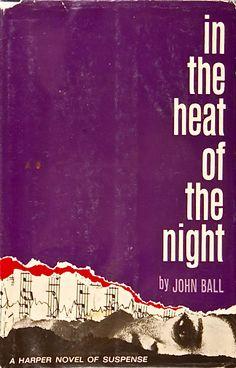 In the Heat of the Night by John Ball 1965  http://www.amazon.com/Heat-Night-John-Ball/dp/B000HZ3FFU/ref=sr_1_1?s=books=UTF8=1354632865=1-1=In+the+Heat+of+the+Night