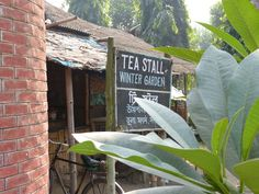 We stopped at some cotton fields and had a tour of the farm. this was the tea stall for all the workers there