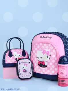#HelloKitty Sailor collection - kids will love the combination of Hello Kitty and polka dots!