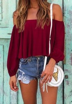 30 Casual Summer Outfit Ideas, Summer Outfits, Need ideas? These awesome Casual Summer Outfit Ideas will give you enough inspiration to look gorgeously hot and comfortable this summer! Teen Fashion, Fashion Outfits, Womens Fashion, Fashion Trends, Fashion Dresses, Style Fashion, Ladies Fashion, Fashion Types, Teenager Fashion