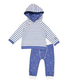 This Blue Headphone Hoodie Set - Infant is perfect! #zulilyfinds