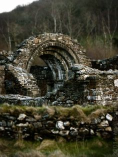 St Saviour's Priory, Romanesque Church, (1150s) Glendalough, Wicklow, Ireland