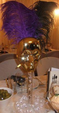 Masquerade Party center peace