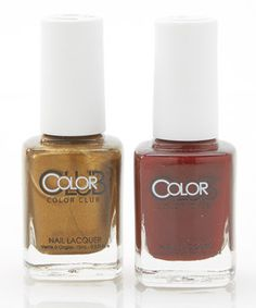 Look what I found on #zulily! Feverish & Pearl District Nail Polish Set by Color Club #zulilyfinds