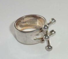 Anna Greta Eker PLUS - Ring sølv 925 S - Selges av alsi fra Sarpsborg på QXL.no Anna, Retro, Bracelets, Silver, Jewelry, Ring, Kunst, Jewlery, Jewerly