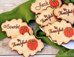 Antique Thanksgiving Cookies tutorial  - SugarEd Productions