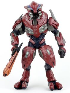 McFarlane Toys Halo Reach Series 4 Elite General Action ...