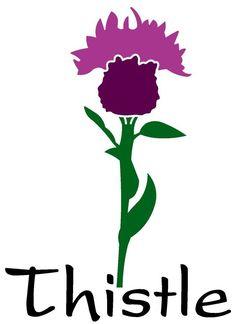 Thistle Flowers Quilty Applique Pinterest Thistles