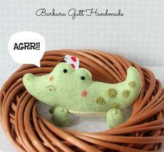 Barbara Handmade ...: Crocodile / Coccodrillo