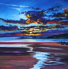 Davy BROWN artist, paintings and art at the Red Rag Scottish Art Gallery