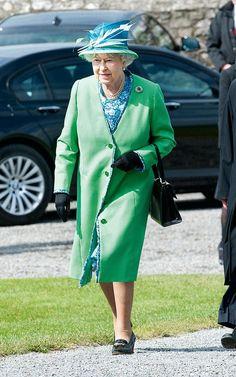 The Queen 2011 visiting the Rock of Cashel in Ireland