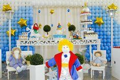 BLOGUINHO DO GUIGA: Decoração 1º aniversário do Pequeno Príncipe Guiga