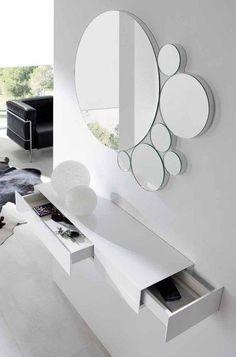 Modern Home Decor Interior Design Dressing Table Design, Interior, Decor Interior Design, Mirror Design Wall, Entryway Decor, Home Decor, Mirror Designs, House Interior, Home Decor Furniture