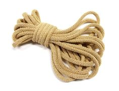 Beige Braided Oval Rope Cord Semisoft Trim Cord by vess65 on Etsy