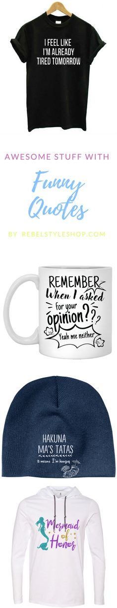 Show your funny personality with this amazing and hilarious things. funny t  shirts funny mugs fc80fa45f8067