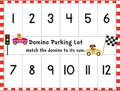 Once Upon a First Grade Adventure: Dice, Dominoes, and Cards Galore! Math Workstation Freebies