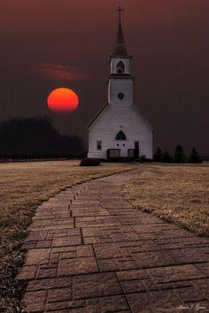 Fort Belmont Sunset - Jackson, Minnesota