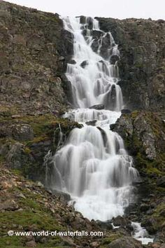 Very impressive cascade on the way to Djupavik Strandir Coast, Westfjords, Iceland Iceland Waterfalls, Westerns, Coast, Around The Worlds, Ocean, Island, Country, Nature, Outdoor