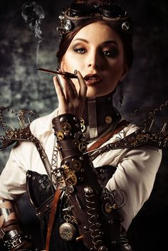 Steampunk Beauties: Photo Please journey to our websitore @ http://www.bluecigsupply.com